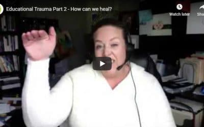 Educational Trauma Part 2 – How can we heal?